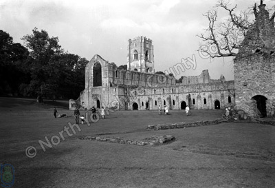 Fountains Abbey, 1968